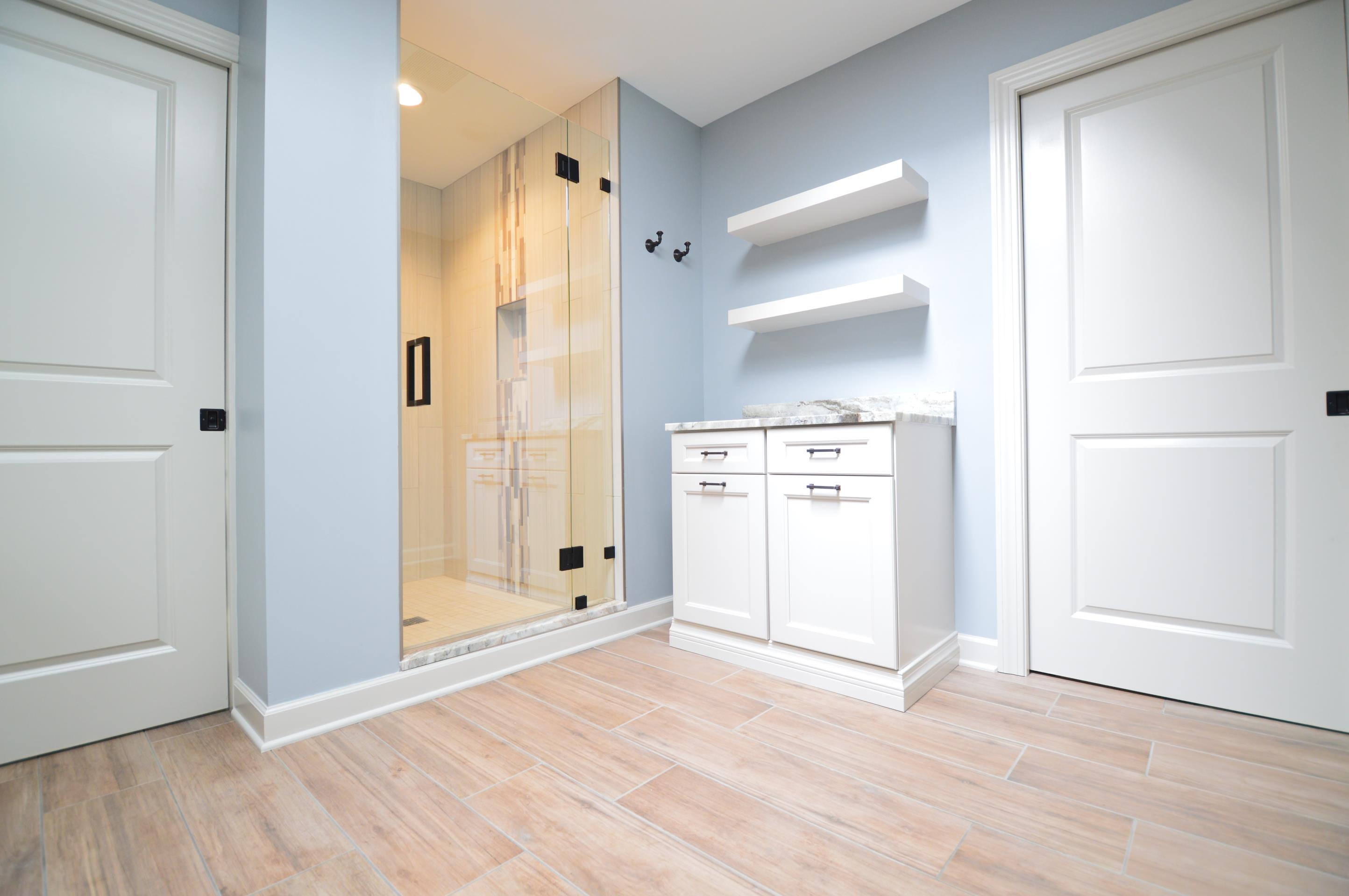 Cure For A Cramped Bathroom