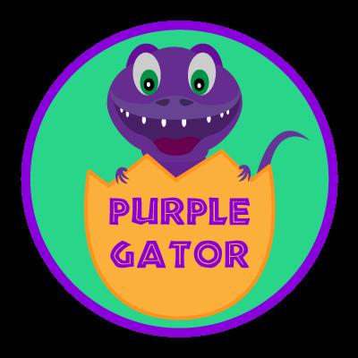 Purple Gator