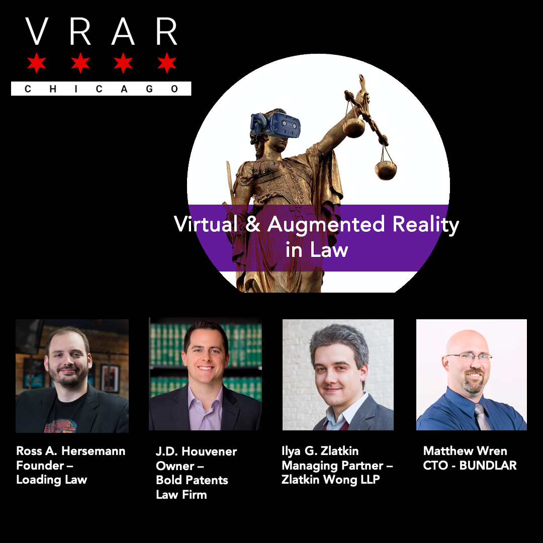 VR & AR: #TheNextEvolution in Law