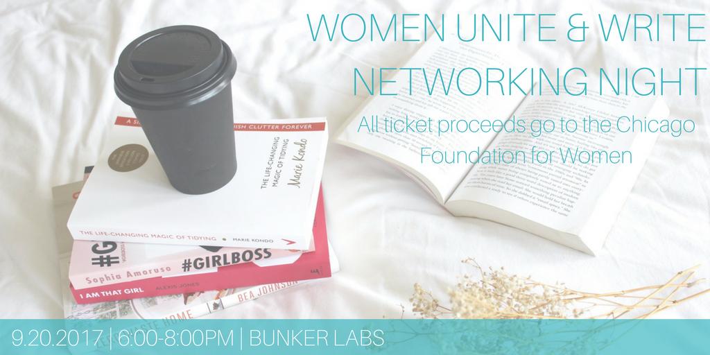 Women Unite & Write Networking Night