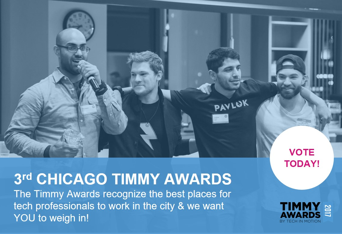 Tech in Motion Chicago's 3rd Annual Timmy Awards