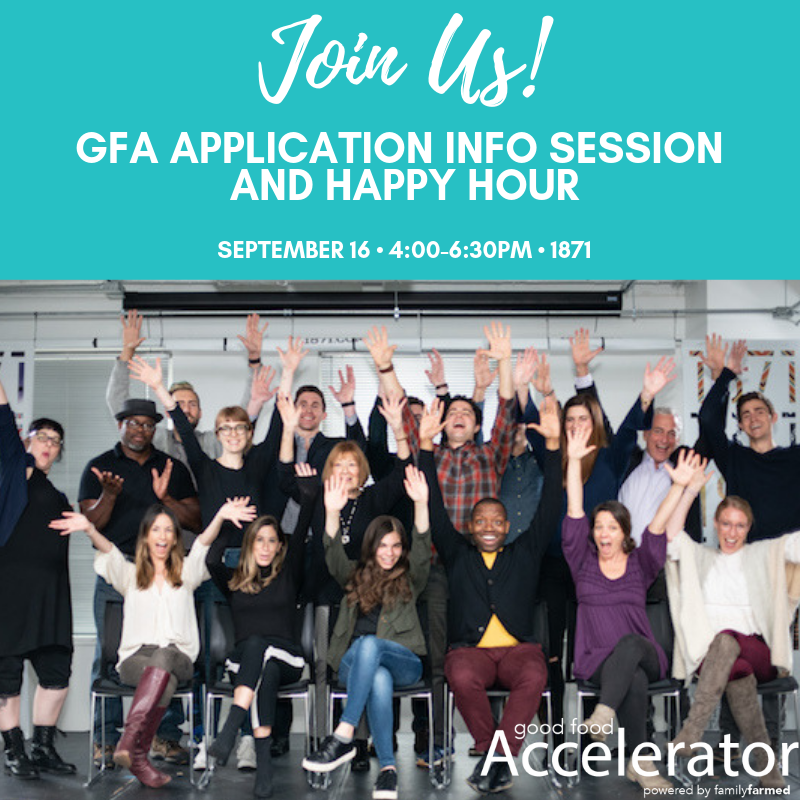 Good Food Accelerator Application Info Session & Happy Hour