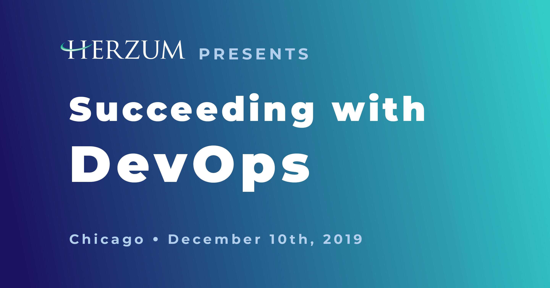 Succeeding with DevOps