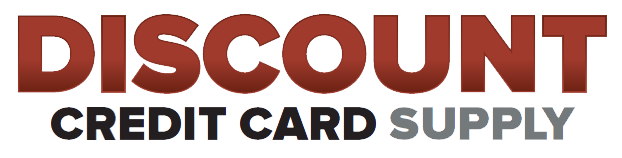 Discount Credit Card Supply Logo