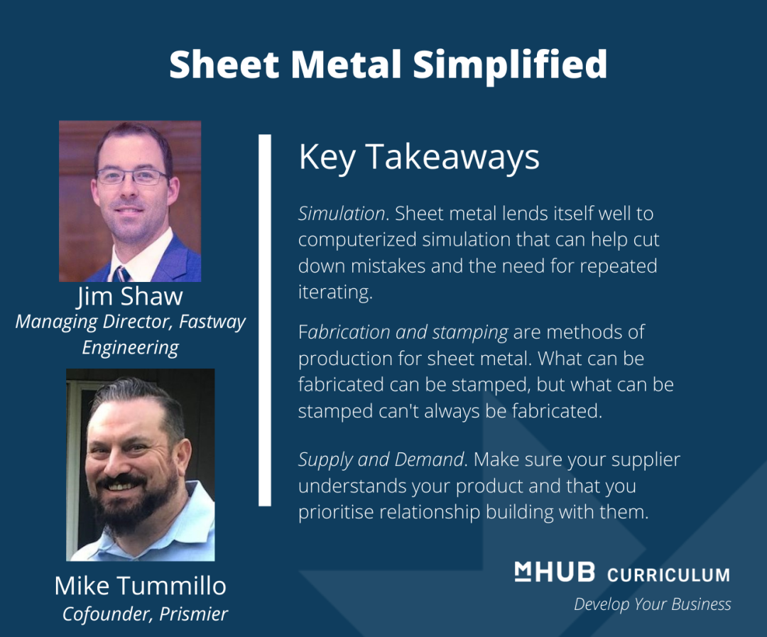 Jim Shaw and Mike Tummillo Simplify the Process and Means of Prototyping with Sheet Metal