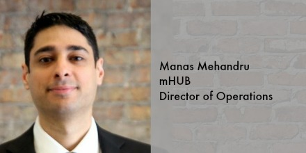 Meet Manas Mehandru, mHUB's Director of Operations