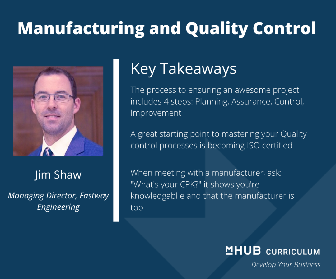 Getting a consistent product every time with help from Jim Shaw