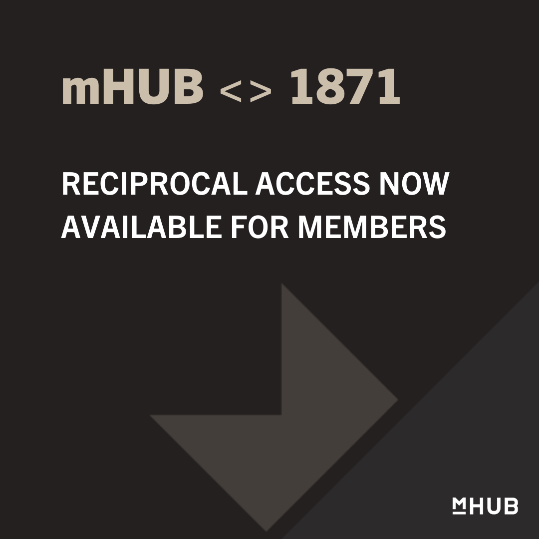 1871 and mHUB Announce Official Partnership