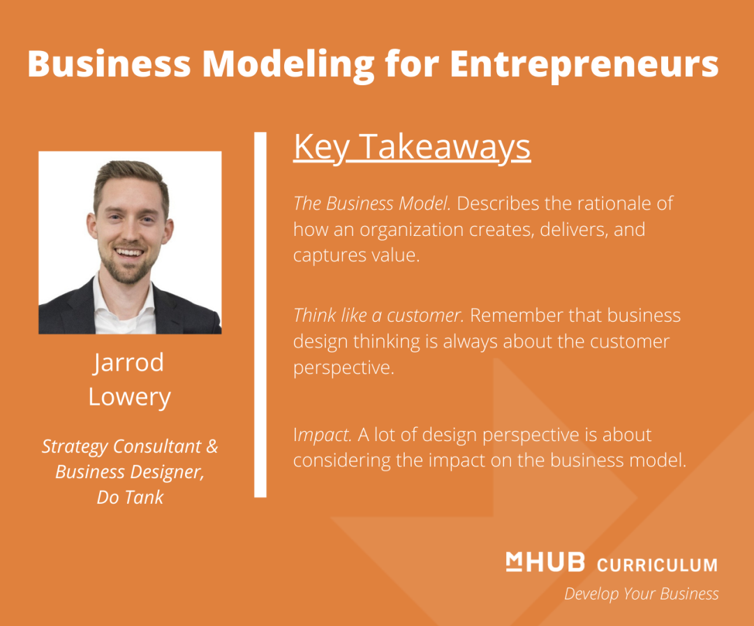 Business Model Canvas: Business Modeling for Entrepreneurs