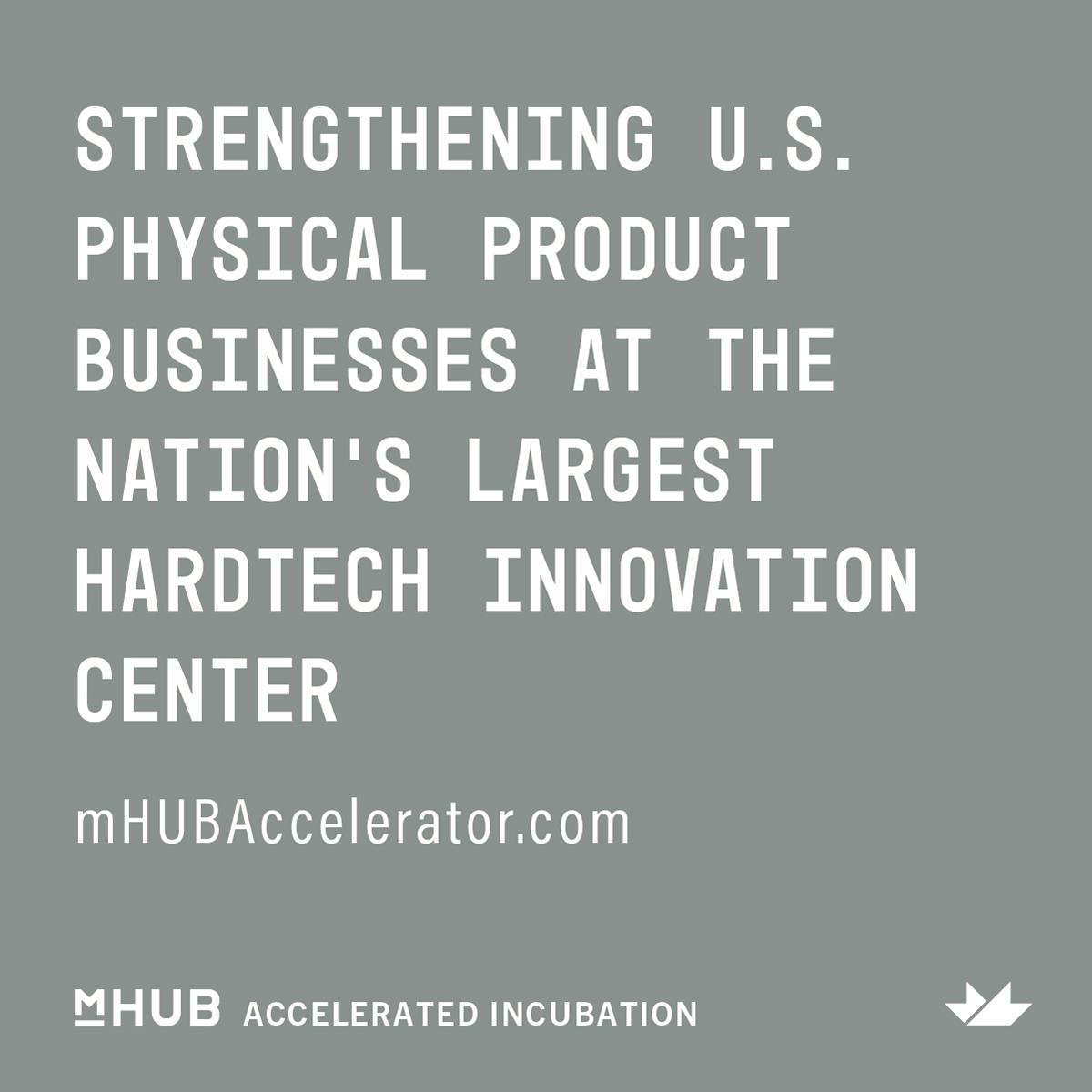 mHUB Launches Hands-On Accelerator For Hardtech Startups