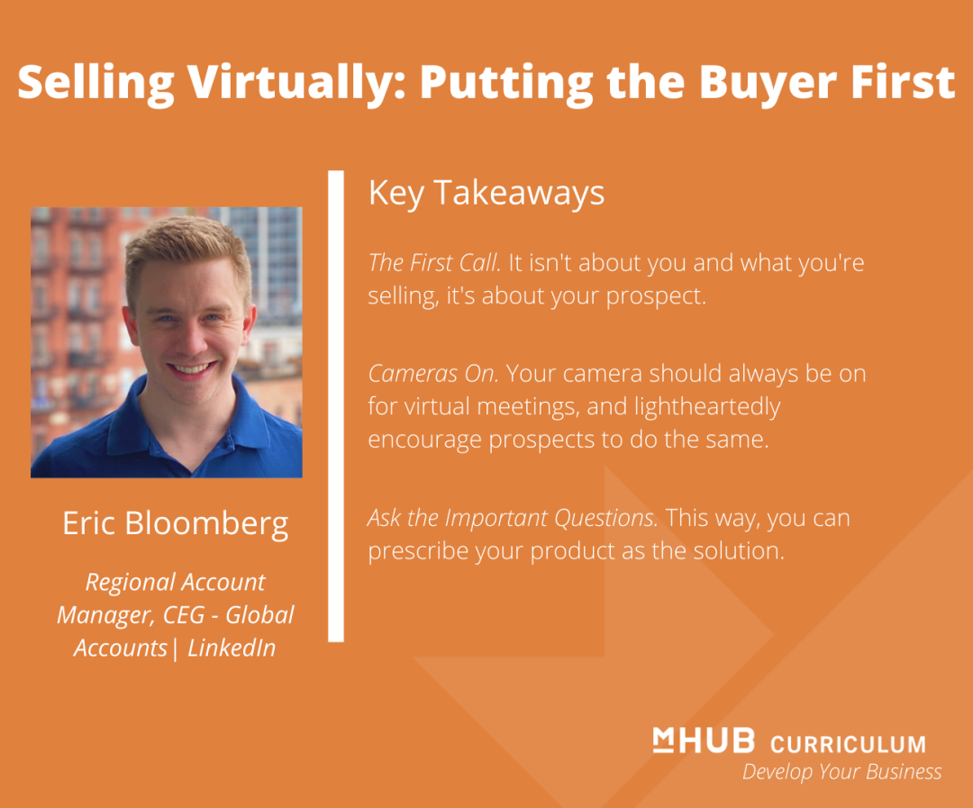 Selling Virtually: Putting the Buyer First