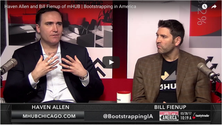 Tastytrade's Bootstrapping in America Features Haven Allen and Bill Fienup