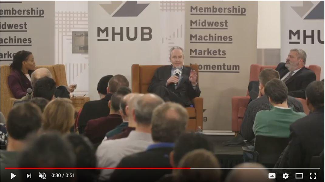 myHUB Industry Disruptors Recap: Michael Seedman, Chris Galvin, Karen Kerr