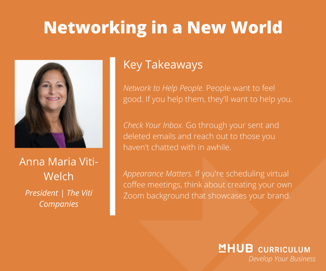 Networking in a New World