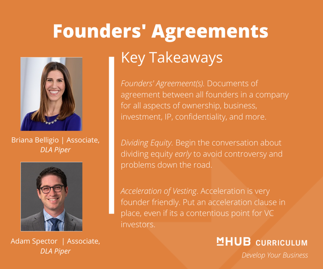 Steps to take to protect and hold your company's founders accountable