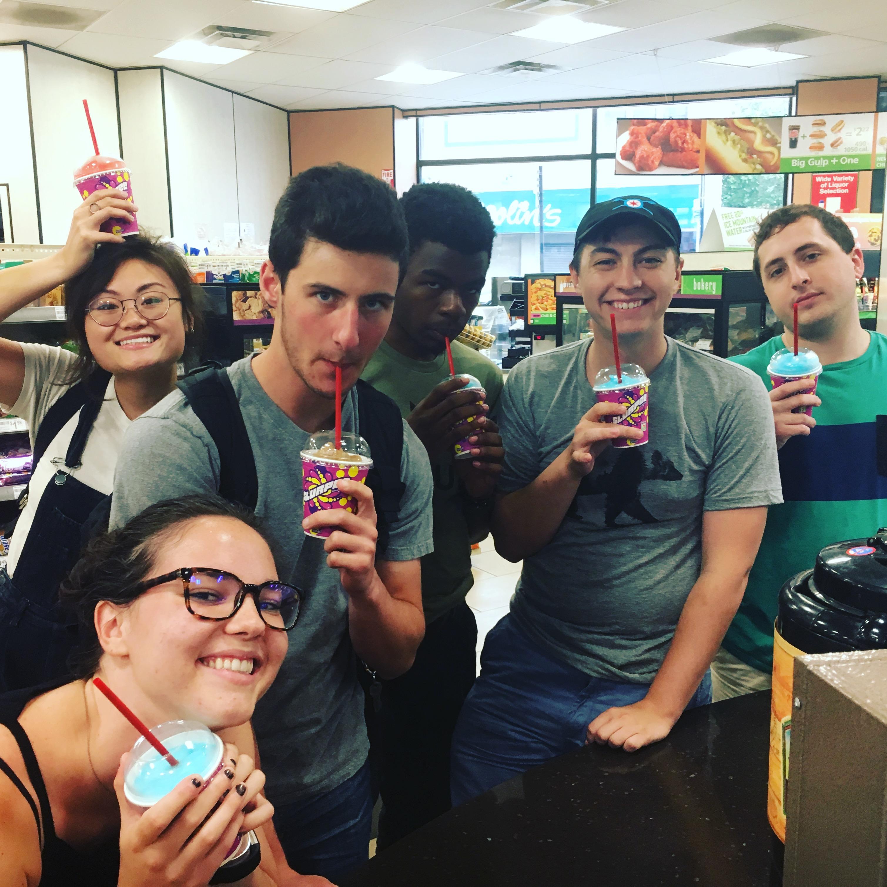 mHUB Summer Interns 2017