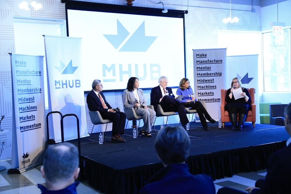 Manufacturing and Physical Product Innovation Center mHUB Celebrates First Year's Success