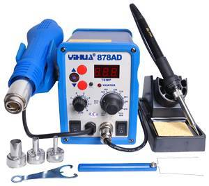 Standard Solder and Heat Gun Stations