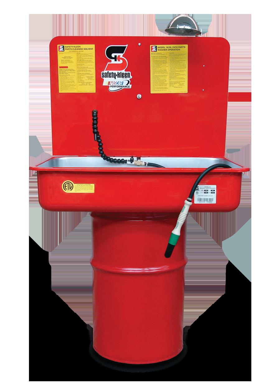 Solvent Wash Station
