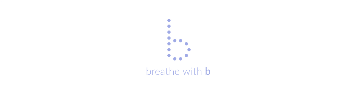breathe with b