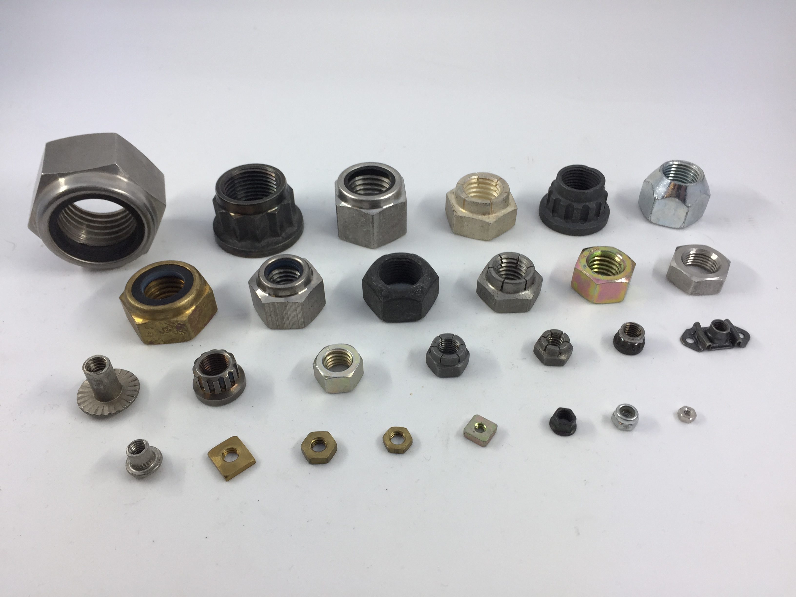 Nuts and Self Locking Nuts