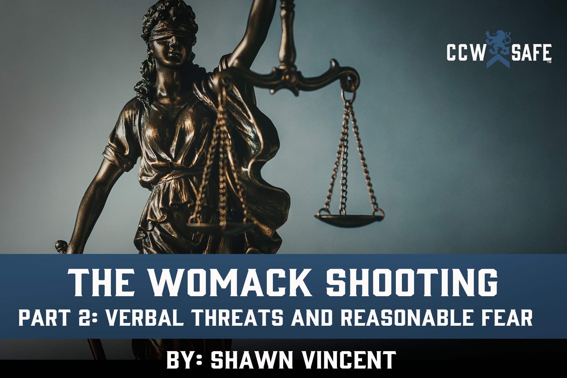 The Womack Shooting Part 2: Verbal Threats and Reasonable Fear