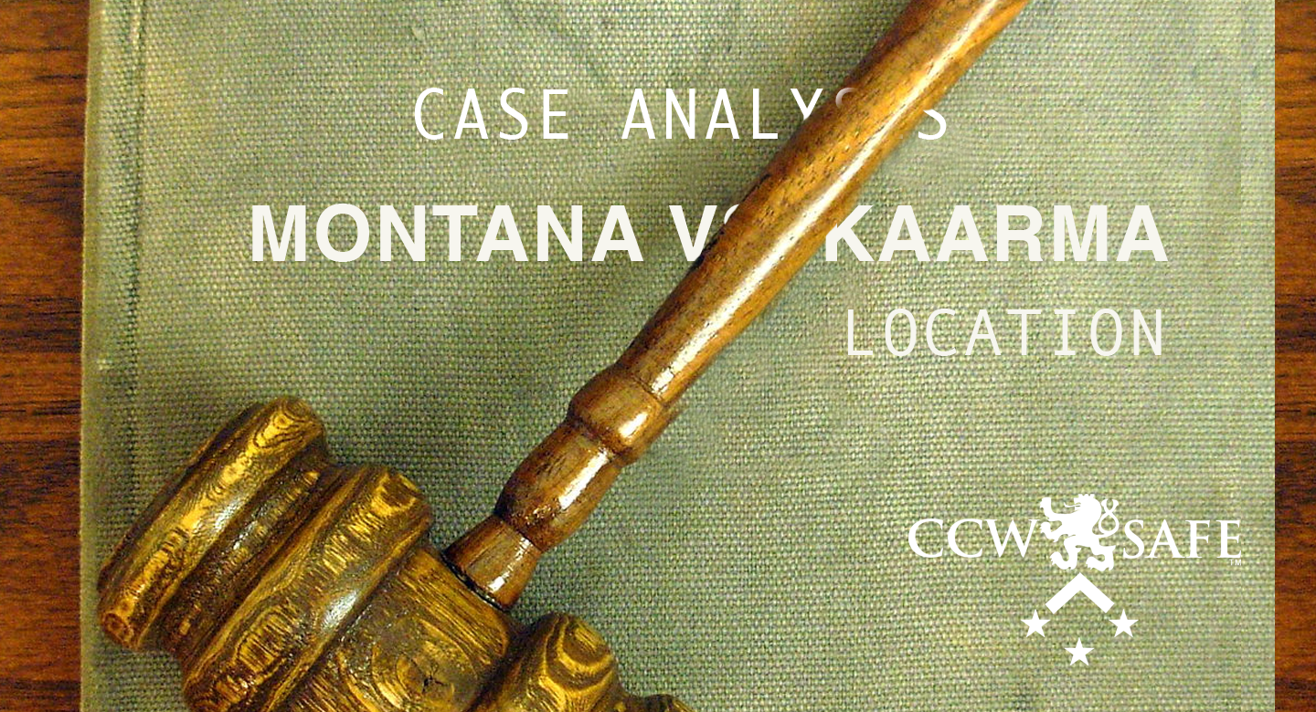 Four Shots In The Dark: Case Analysis of the Kaarma case- Location
