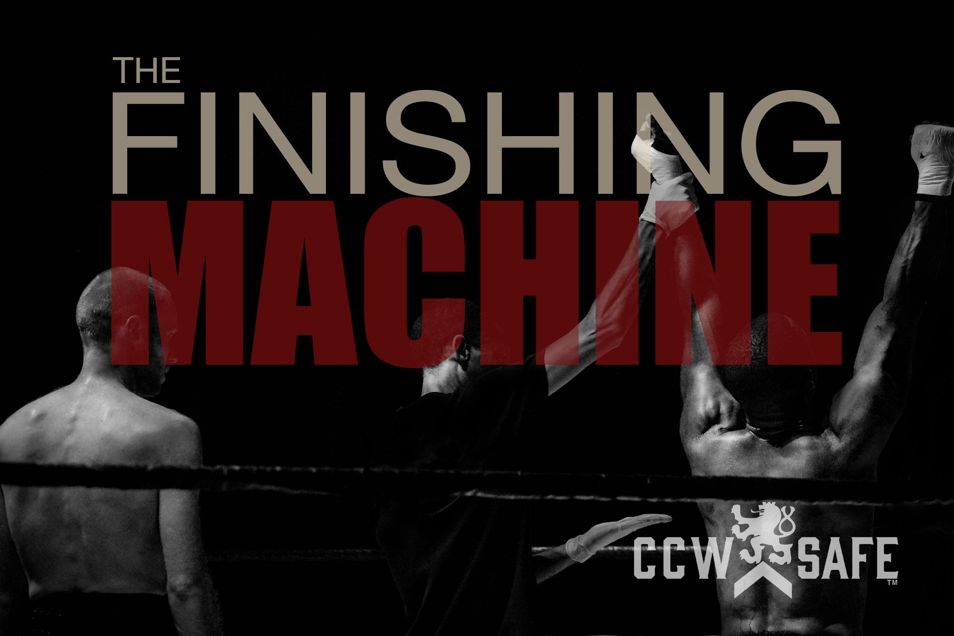 In Self Defense- The Finishing Machine- The Self Defense Case of Gerald Strebendt- The Facts