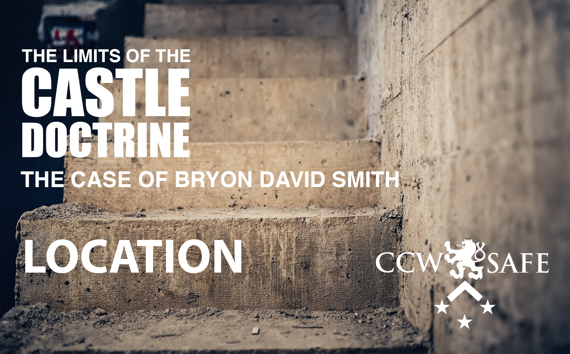 The Limits of the Castle Doctrine- The Byron David Smith Case- Location