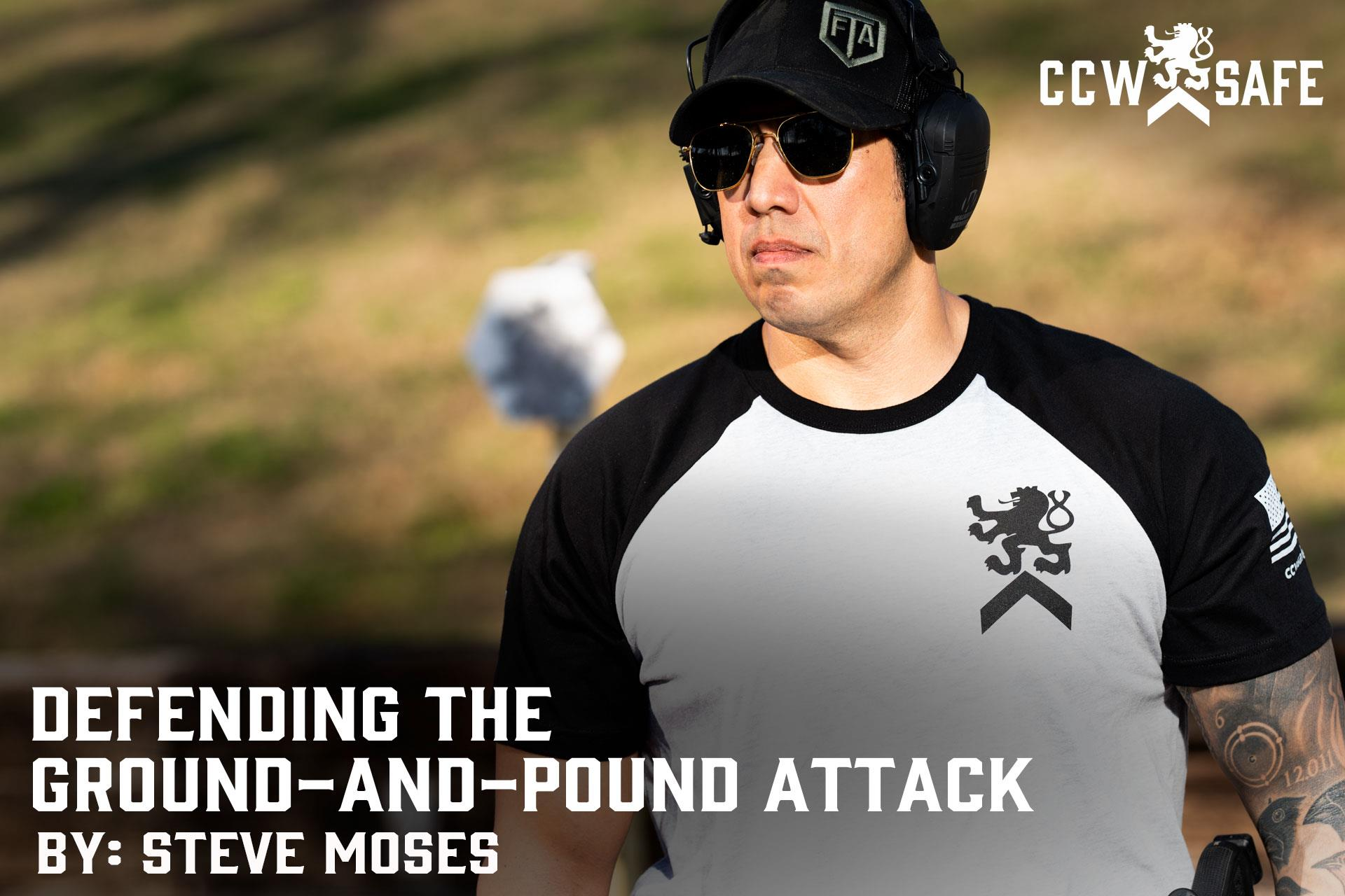 DEFENDING THE GROUND-AND-POUND ATTACK