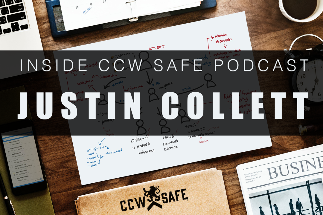 Inside CCW Safe Podcast: Episode 20- Content is King feat. Justin Collett