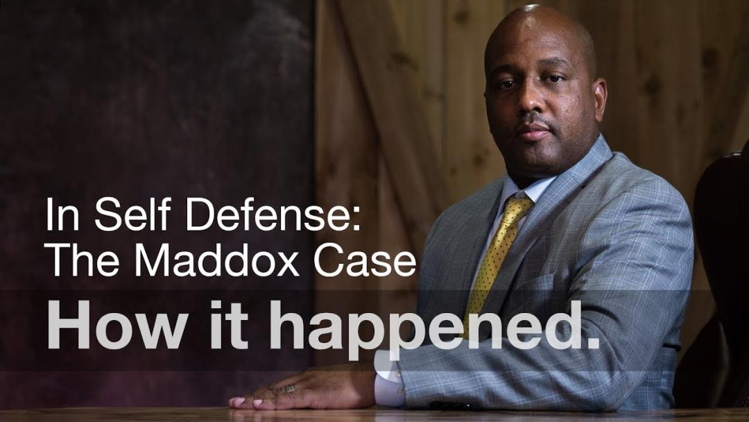 VIDEO - The Stephen Maddox Case: How it Happened In His Own Words