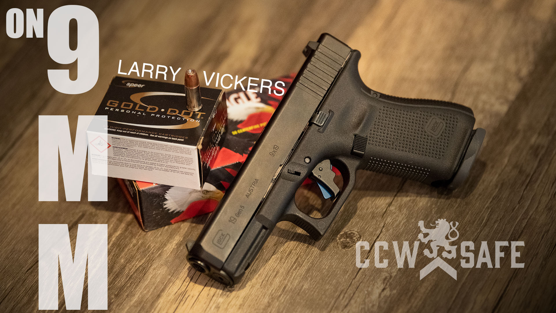 Larry Vickers on 9mm