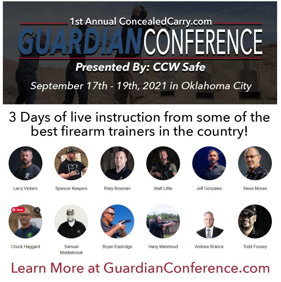 1st Annual ConcealedCarry.com Guardian Conference presented by CCW Safe