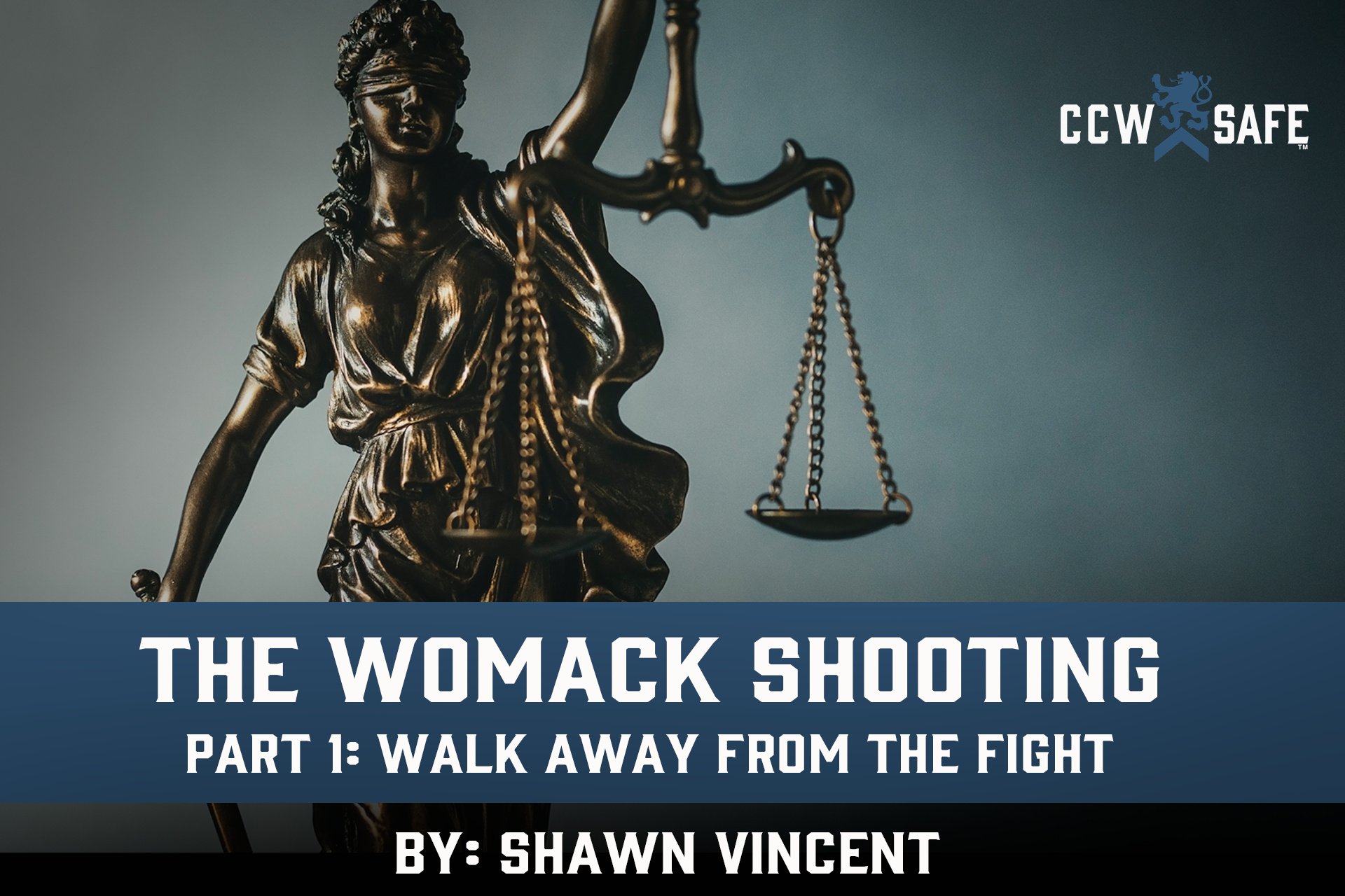 The Womack Shooting Part 1: Walk Away From the Fight