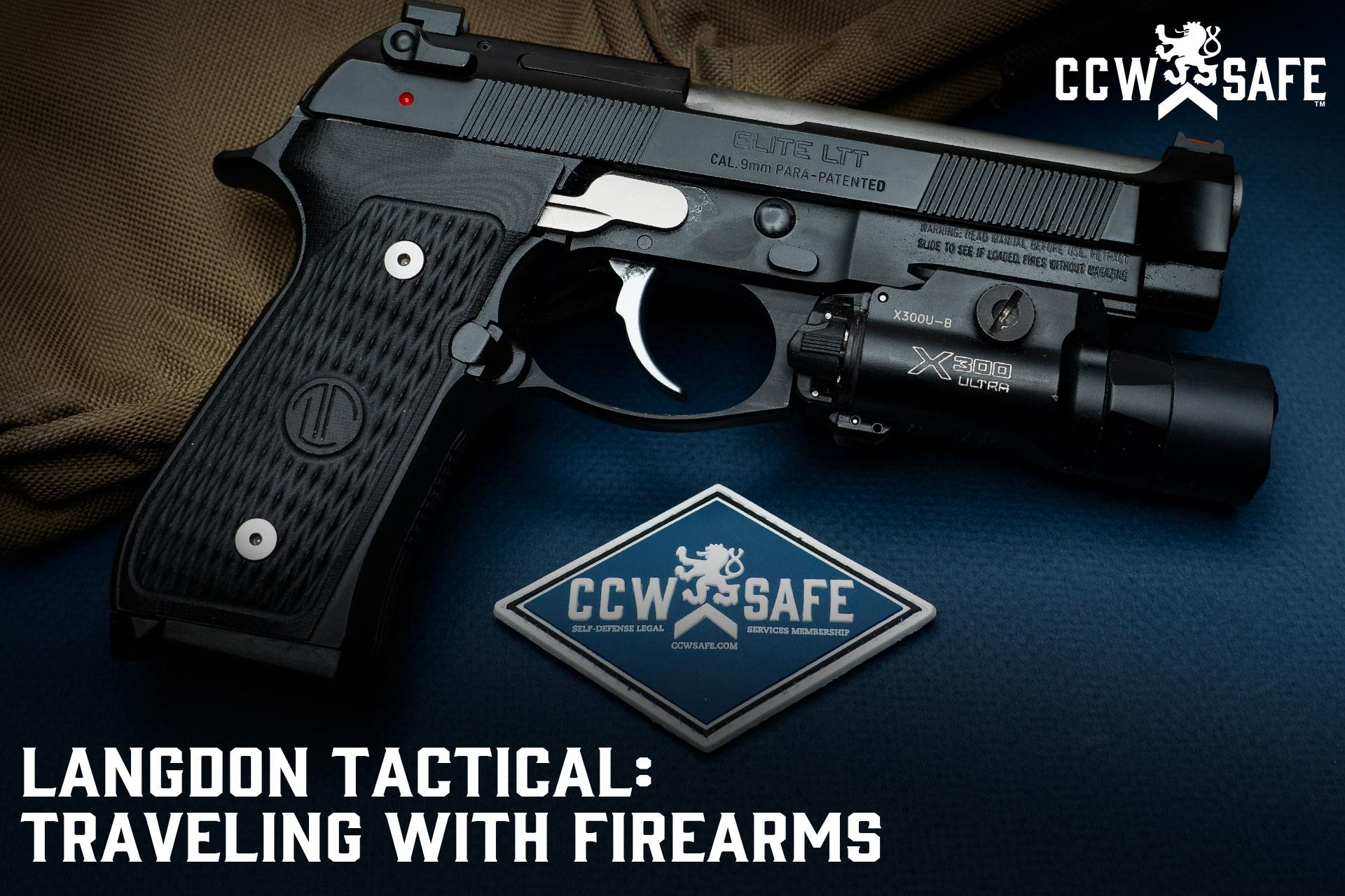 VIDEO - Langdon Tactical: Traveling With Firearms