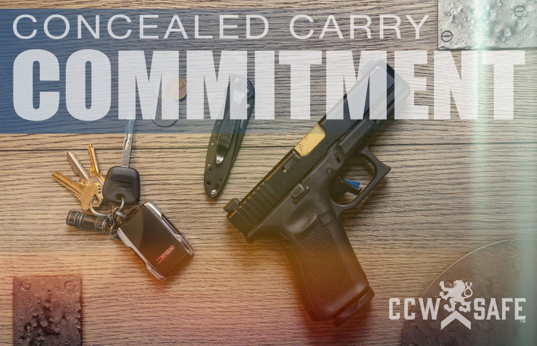 The Four Principals of Concealed Carry Commitment