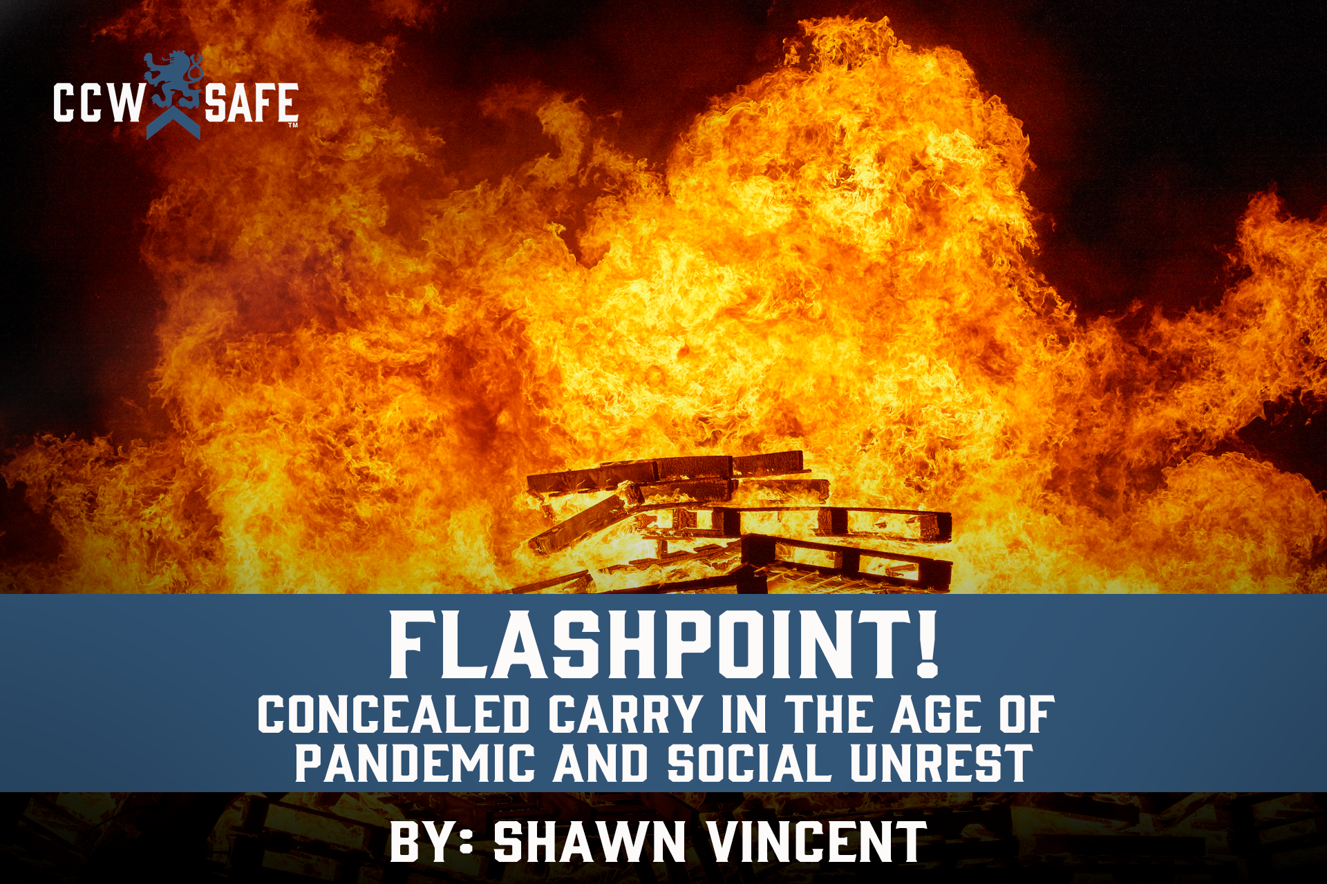 Flashpoint! Concealed carry in the age of pandemic and social unrest