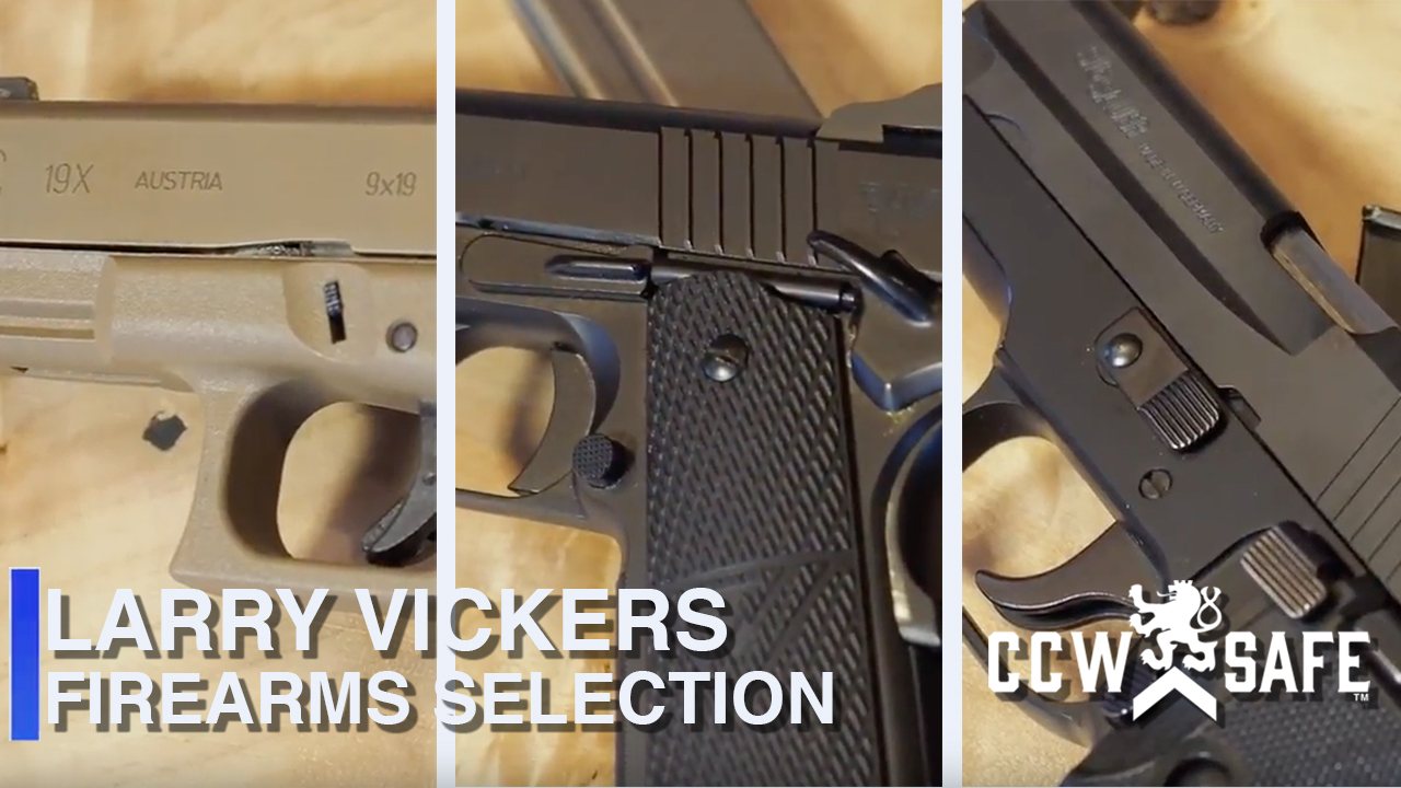 Firearms Selection- 3 of Larry Vickers Top Choices in 9MM