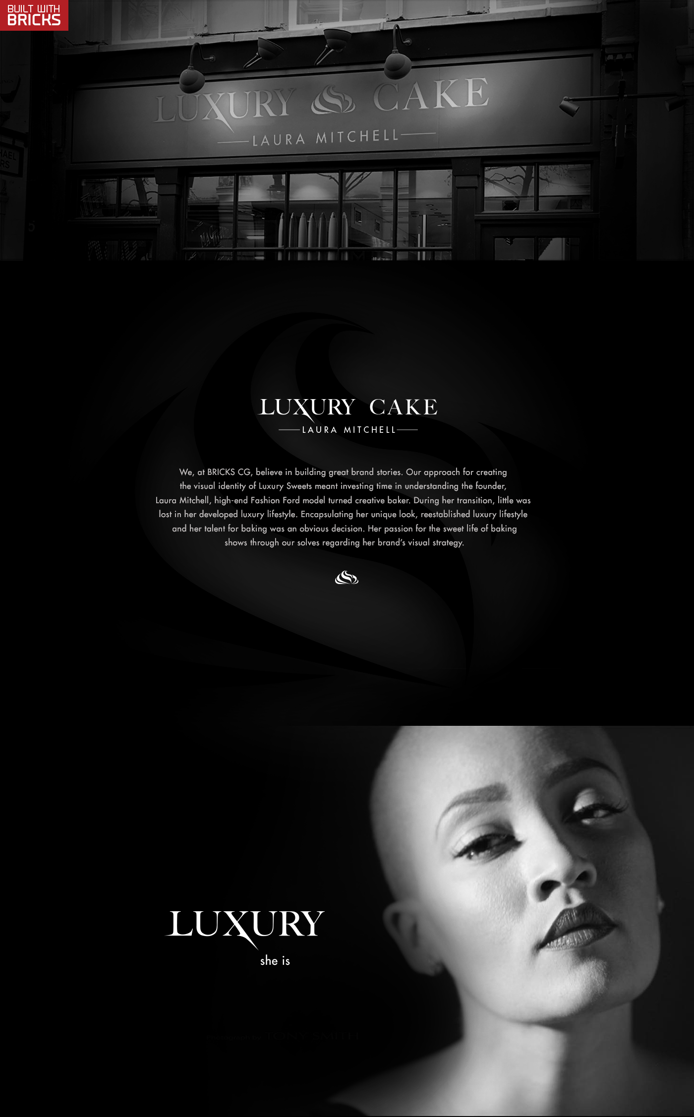 Luxury Cake Brand Development