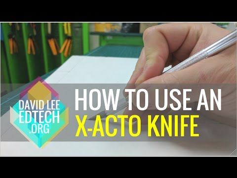 How to Use X-Acto Knife on Foam Board