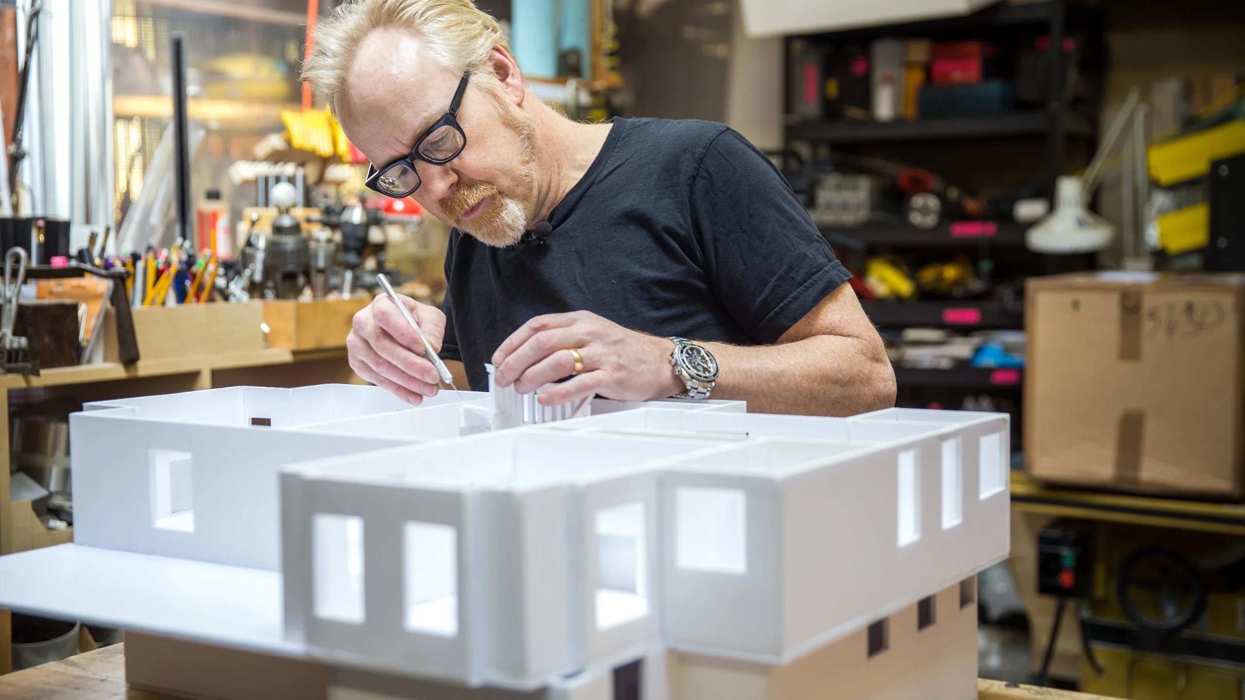 Building a Foamcore House by Adam Savage