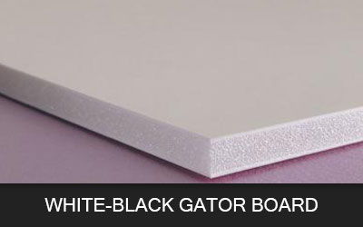 White-Black Gator Board