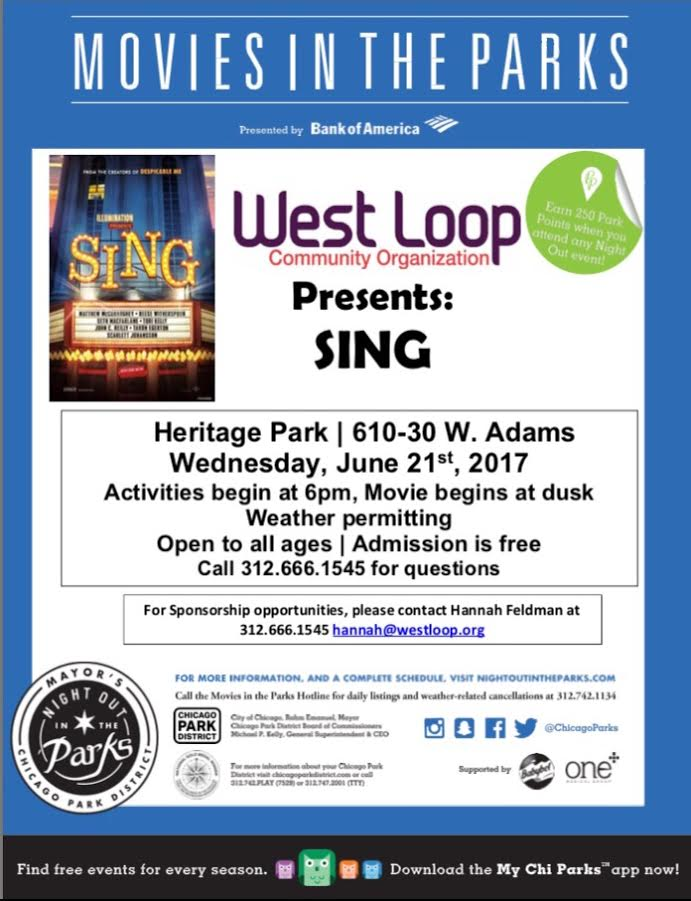 WLCO'S MOVIES IN THE PARKS SPONSORSHIP OPPORTUNITIES