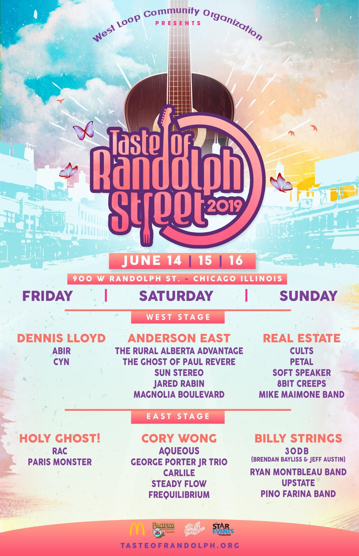 The Taste Of Randolph Street Is Back: June 14-16