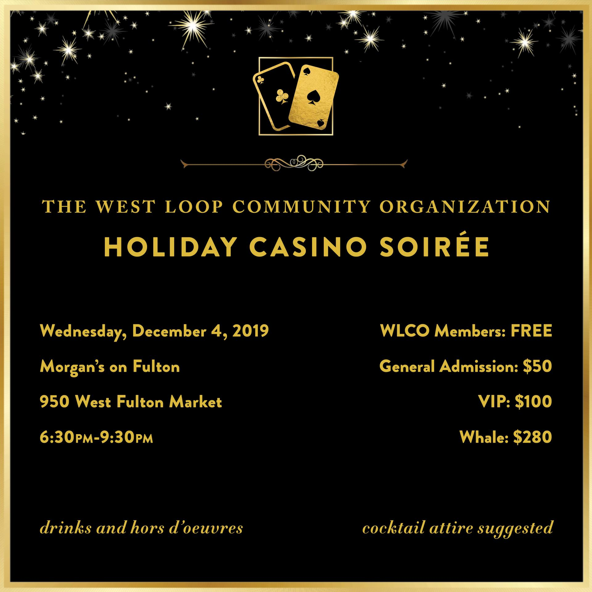 Get Your Tickets For Casino Night!