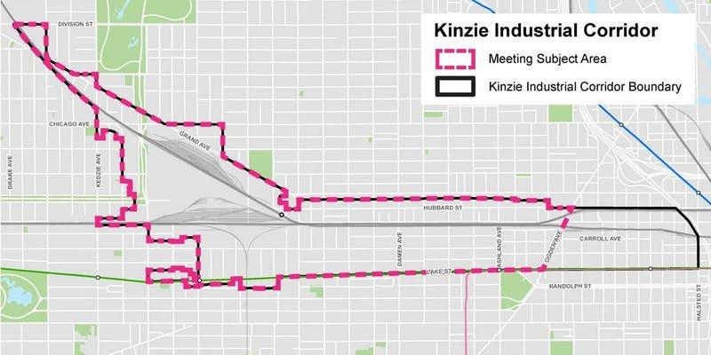 Kinzie Industrial Corridor: Public Feedback Requested on Materials from October 9 Meeting