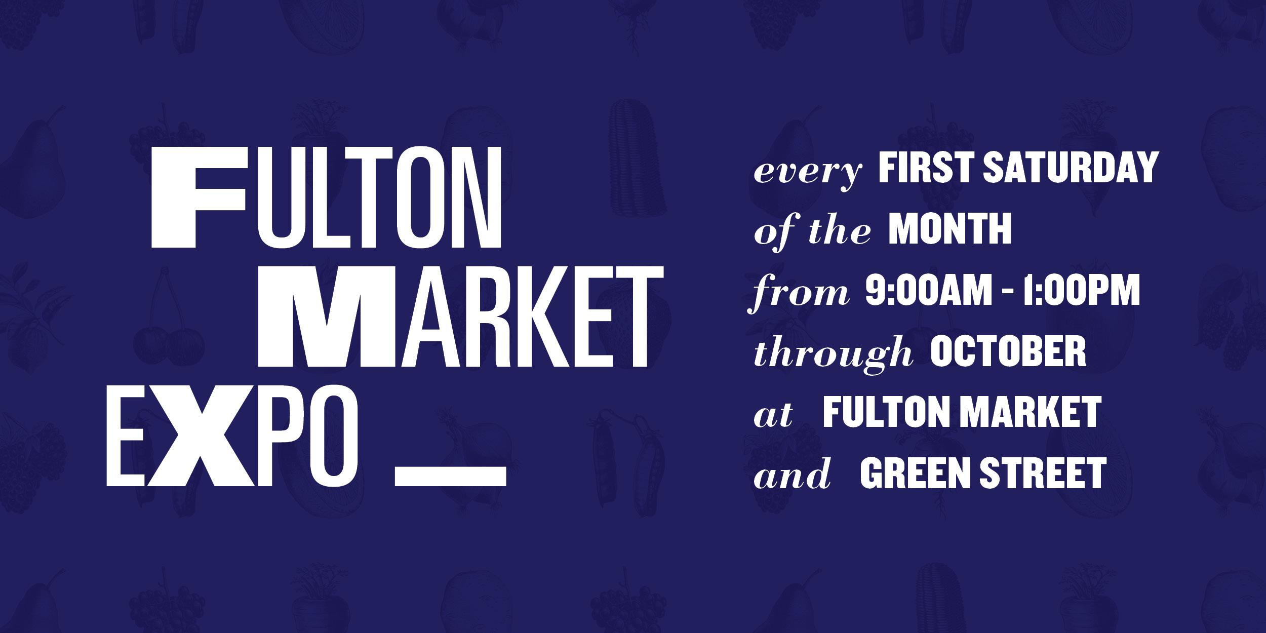 Fulton Market Expo returns Saturday, May 4!