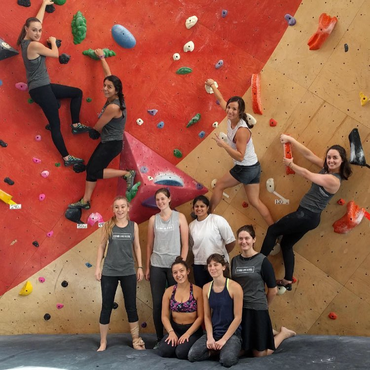 Featured in West Loop Scoop: Climb Like a Girl