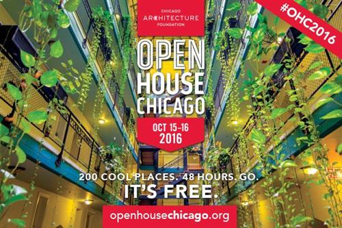 Chicago Architecture Foundation's Open House Chicago will Showcase West Loop Buildings
